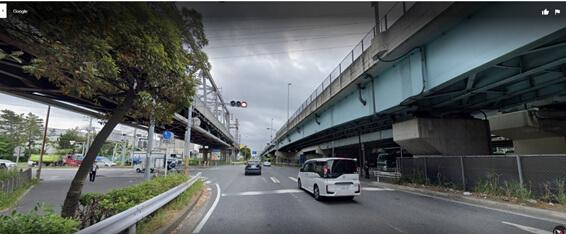 千鳥町交差点を東京湾方面から行徳方面に抜けるor行徳方面から東京湾方面に抜ける場合右折信号がない様子