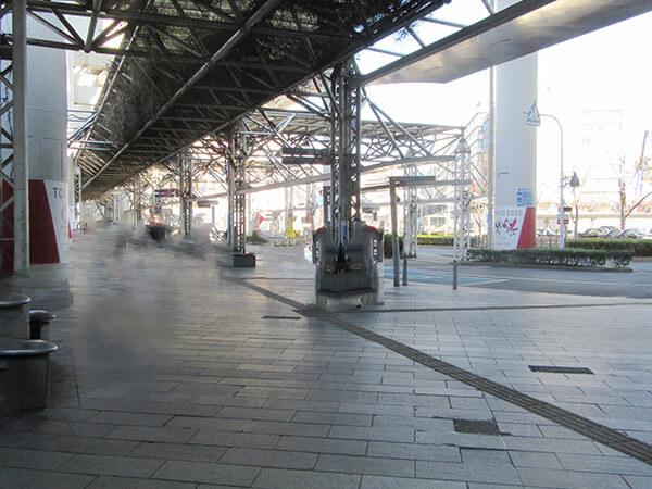 千葉駅周辺ロータリー